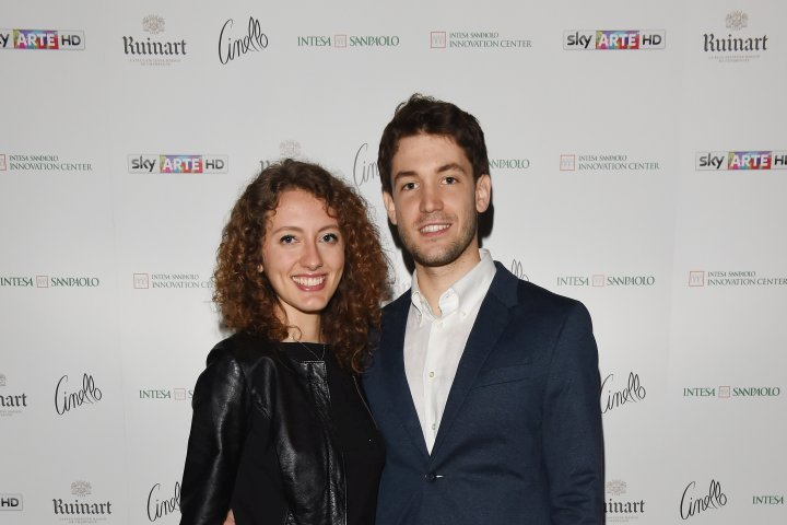 MILAN, ITALY - APRIL 11:  Guests attend Save The Artistic Heritage - Vernissage Cocktail on April 11, 2018 in Milan, Italy.  (Photo by Stefania M. D'Alessandro/Getty Images for Cinello)
