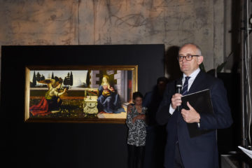 MILAN, ITALY - APRIL 11:  Massimo Carminati attends Save The Artistic Heritage - Vernissage Cocktail on April 11, 2018 in Milan, Italy.  (Photo by Stefania M. D'Alessandro/Getty Images for Cinello) *** Local Caption *** Massimo Carminati