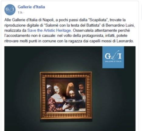 Gallerie D'Italia – Facebook