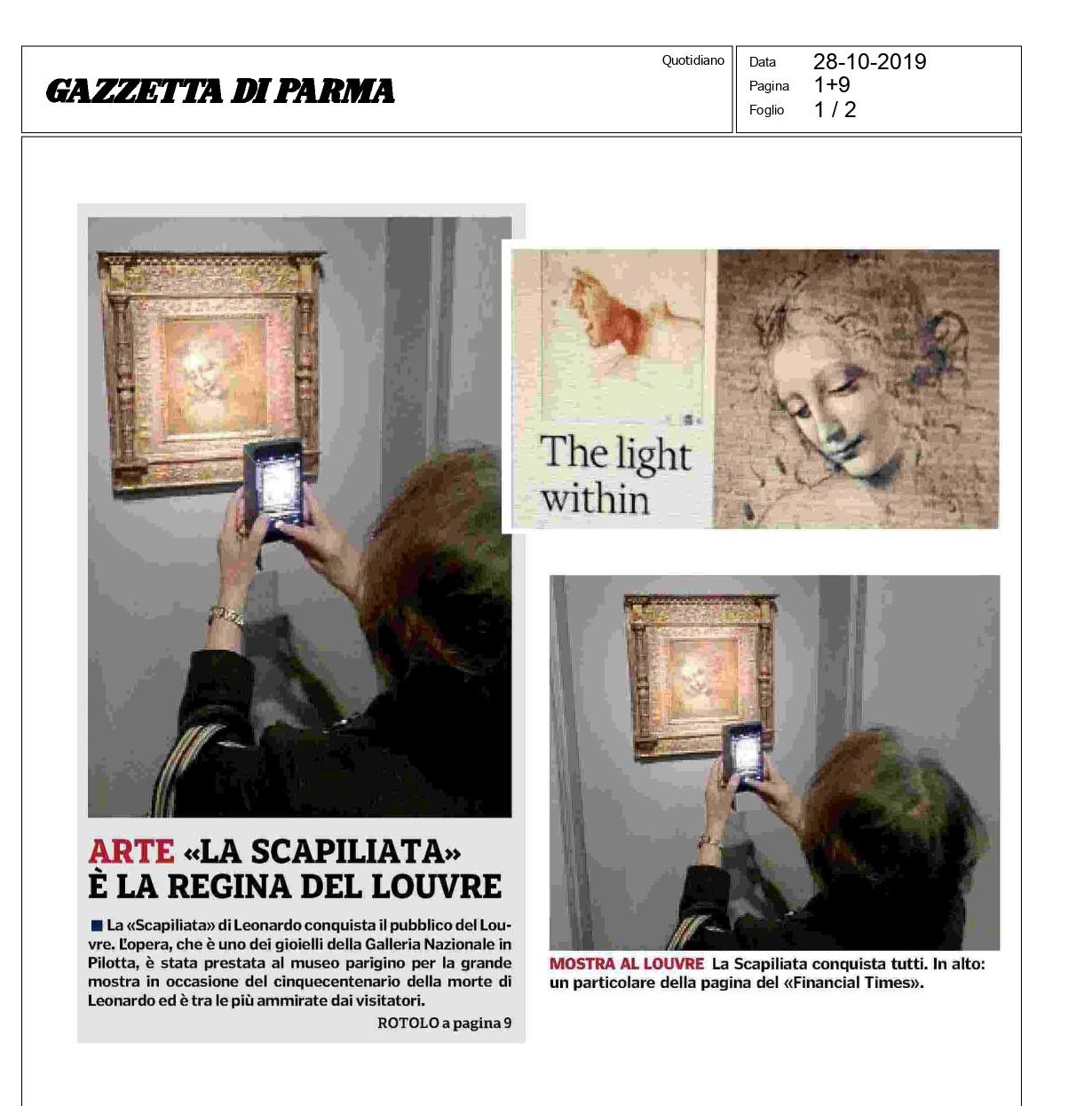 La Scapiliata stupisce e conquista il pubblico al Louvre