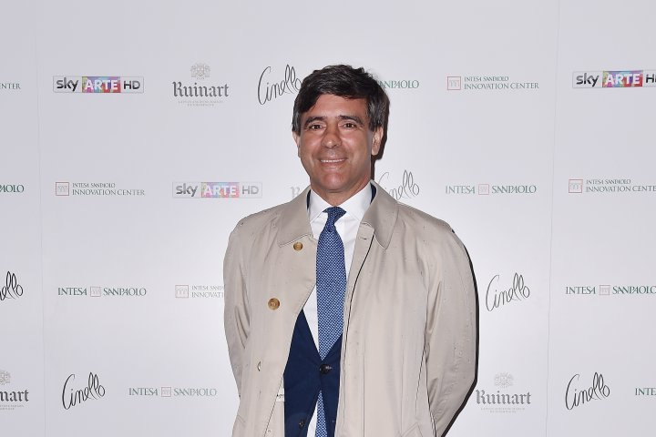 MILAN, ITALY - APRIL 11:  Alessandro Valentinis attends Save The Artistic Heritage - Vernissage Cocktail on April 11, 2018 in Milan, Italy.