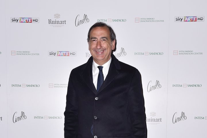 MILAN, ITALY - APRIL 11:  Giuseppe Sala attends Save The Artistic Heritage - Vernissage Cocktail on April 11, 2018 in Milan, Italy.