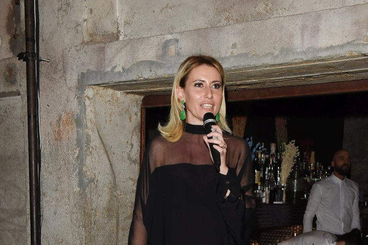 MILAN, ITALY - APRIL 11:  Federica Pesce attends Save The Artistic Heritage - Vernissage Cocktail on April 11, 2018 in Milan, Italy.  (Photo by Stefania M. D'Alessandro/Getty Images for Cinello) *** Local Caption *** Federica Pesce