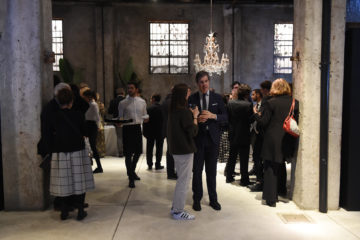 MILAN, ITALY - APRIL 11:  General view during the Save The Artistic Heritage - Vernissage Cocktail on April 11, 2018 in Milan, Italy.  (Photo by Stefania M. D'Alessandro/Getty Images for Cinello)