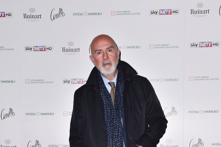 MILAN, ITALY - APRIL 11:  Carlo Francini attends Save The Artistic Heritage - Vernissage Cocktail on April 11, 2018 in Milan, Italy.