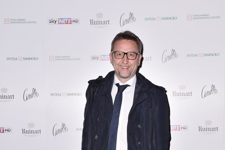 MILAN, ITALY - APRIL 11:  Alessio Beltrame attends Save The Artistic Heritage - Vernissage Cocktail on April 11, 2018 in Milan, Italy.