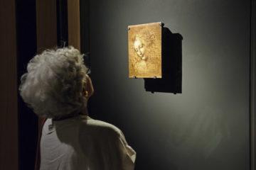 Napoli: Palazzo Zevallos - L'Ospite Illustre - La Scapiliata di Leonardo Da Vinci   ph: Roberto Della Noce